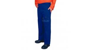 蓝色时款工作裤