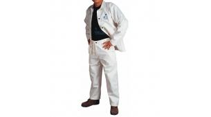 白色阻燃工作裤